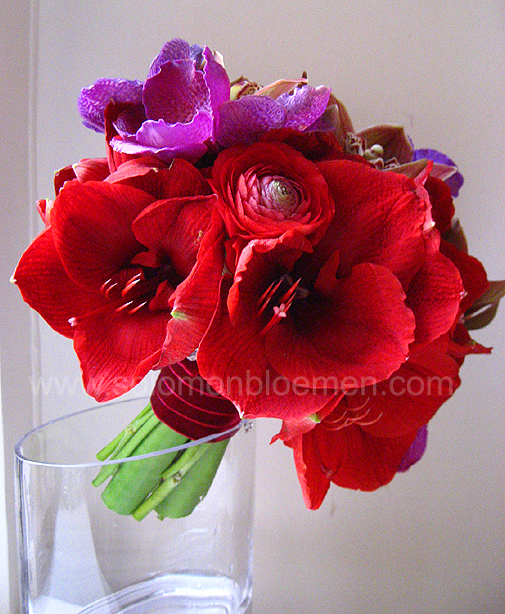 Chinese Lantern Wedding Purple And Teal Wedding Bouquets Alabama Wed